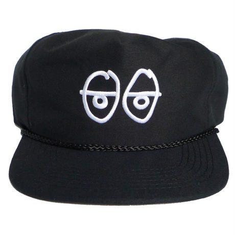 KROOKED STOCK EYES SNAPBACK CAP