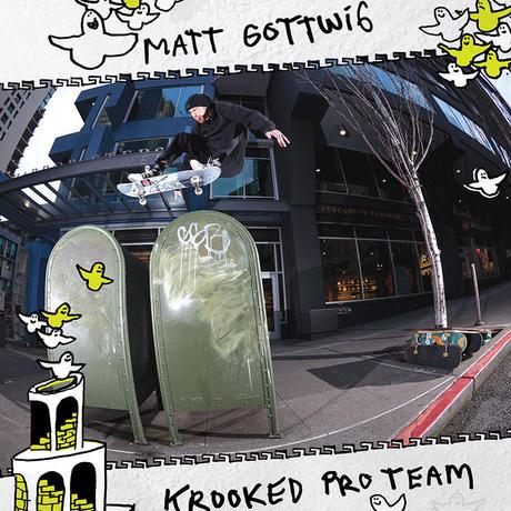 KROOKED MATT GOTTWIG NEW PRO DECK (8.25 x 32inch)