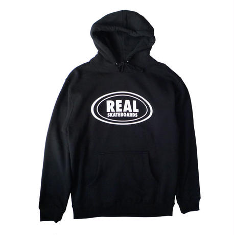 REAL OVAL PULLOVER HOODIE