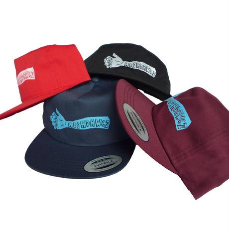 HESHDAWGZ x RUSS POPE ARM SNAPBACK CAP