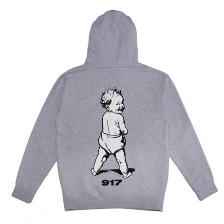 CALL ME 917 BAD BABY PULLOVER HOODIE