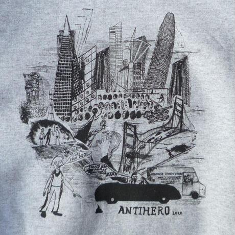 ANTI HERO x CHRIS JOHANSON 2020 SF THEN AND NOW HOODIE
