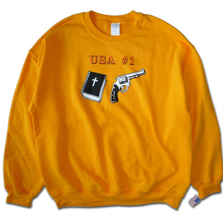 DEAR, EARLY BLIND AND VIDEO DAYS COLLECTION USA #1 CREWNECK