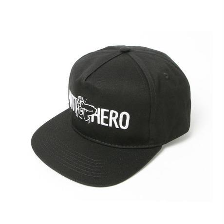 ANTI HERO PUNCH EMBROIDERY SNAPBACK CAP BLACK