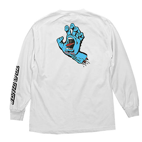 SANTA CRUZ SCREAMING HAND L/S TEE