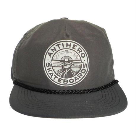 ANTI HERO STAY READY REFLECTIVE SNAPBACK CAP