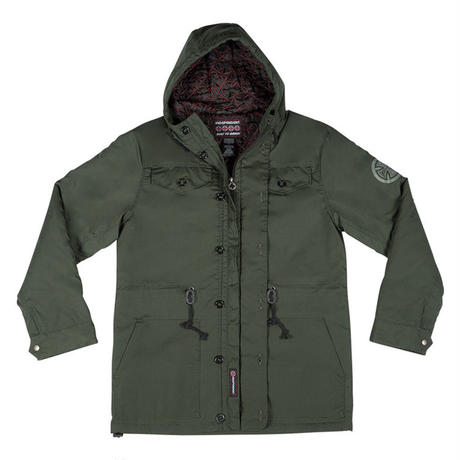 INDEPENDENT MANEUVERS HOODED HEAVYWEIGHT JACKET