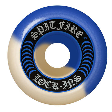 SPITFIRE LOCK INS FORMULA FOUR WHEEL  NATURAL / BLUE