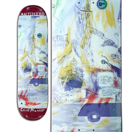ANTI HERO CHRIS PFANNER SF THEN AND NOW DECK (8.06 x 31.8inch)