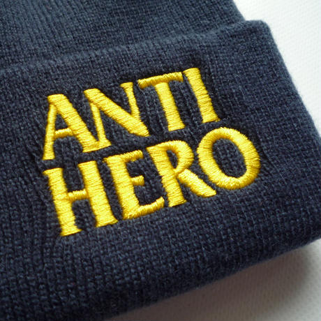 ANTI HERO BLACKHERO EMBROIDERED CUFF BEANIE