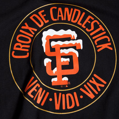 THRASHER x SF GIANTS CANDLESTICK STRIKER TEE