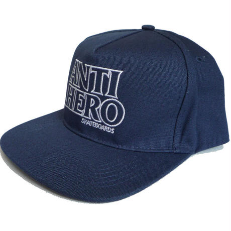 ANTI HERO BLACK HERO OUTLINE EMBROIDERY CAP