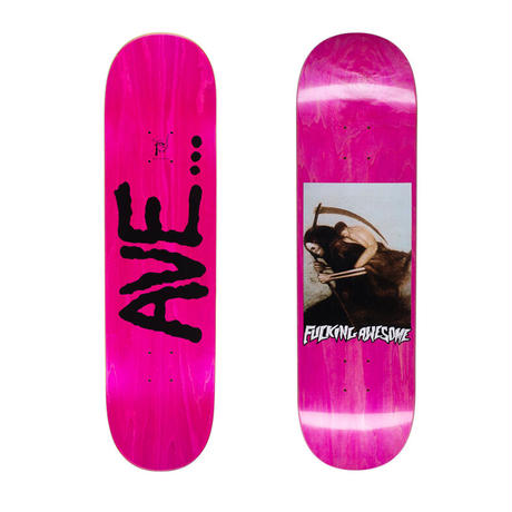 FUCKING AWESOME AVE (ANTHONY VAN ENGELEN)  PERSONIFICATION OF DEATH DECK  (8.5 x 31.91inch)
