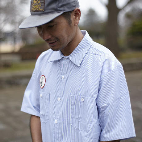 GOLD SCHOOL ICON WORK SHIRT