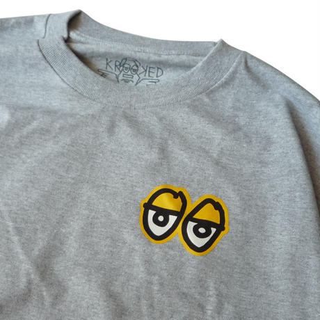 KROOKED STOCK STRAIT EYES L/S TEE
