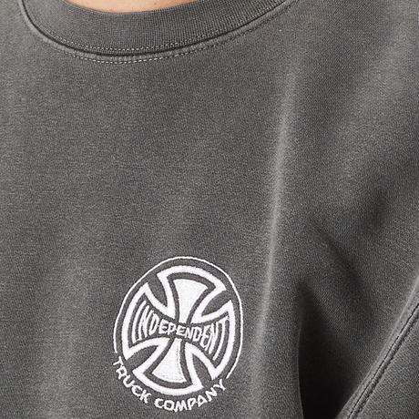 INDEPENDENT TRUCK CO. EMBROIDERY CREWNECK