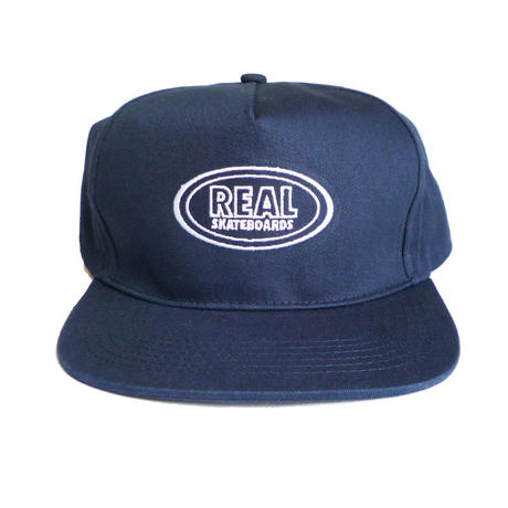 REAL OVAL SNAPBACK CAP