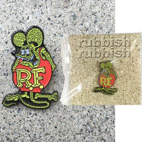 RUBBISH RUBBISH RAT FINK PINS