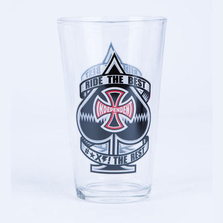 INDEPENDENT ANTE PINT GLASS