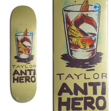 ANTI HERO GRANT TAYLOR OVERCROWDING DECK (8.12 x 31.38inch,  WB14)
