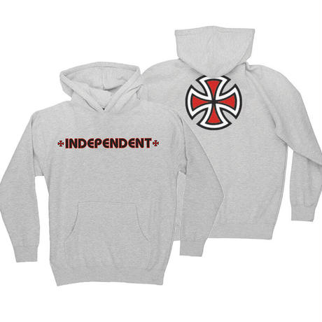 INDEPENDENT BAR CROSS PULLOVER YOUTH HOODIE