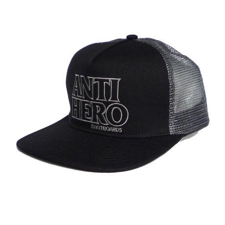 ANTI HERO BLACK HERO OUTLINE MESH CAP