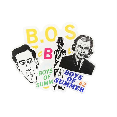 BOYS OF SUMMER STICKER PACK SERIES 2