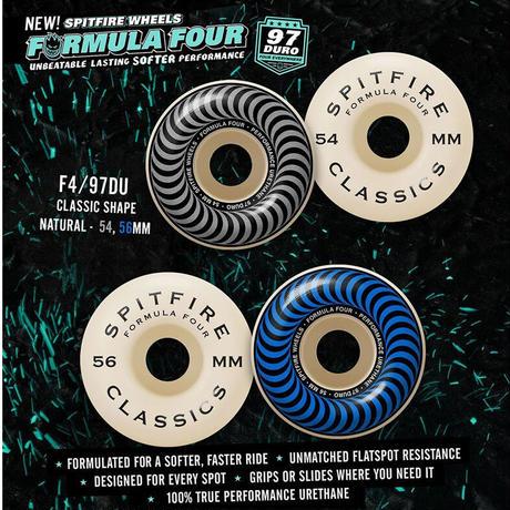SPITFIRE FORMULA FOUR WHEEL CLASSIC 97DU