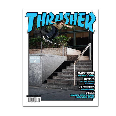 THRASHER MAGAZINE 2019 AUGUST ISSUE #469