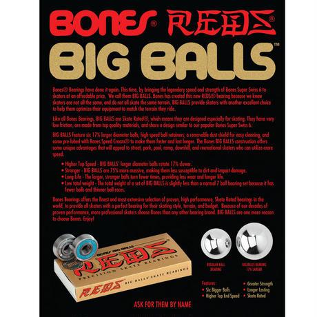 BONES BEARINGS BIG BALLS