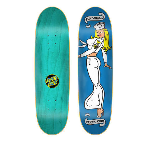SANTA CRUZ RON WHALEY SAILOR GIRL DECK (8.7 x 31.7inch)