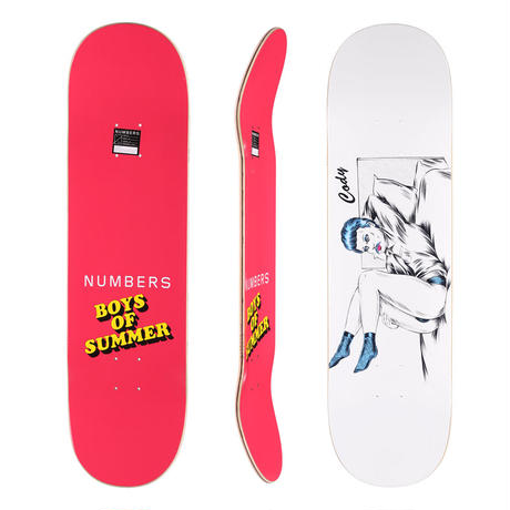 NUMBERS CODY SIMMONS BOYS OF SUMMER DECK (8.5 x 32inch) DVD付き!