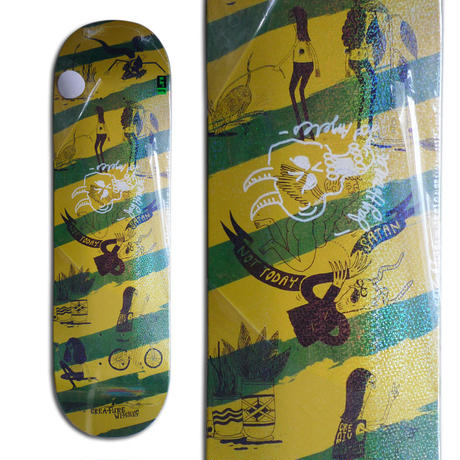 CREATURE x JAY HOWELL SNAKE BARF LARGE SIGNED DECK - A (8.6 x 32.11inch)  サイン入りデッキ & ポスター付き