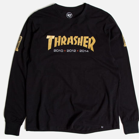THRASHER x SF GIANTS RIVAL L/S TEE