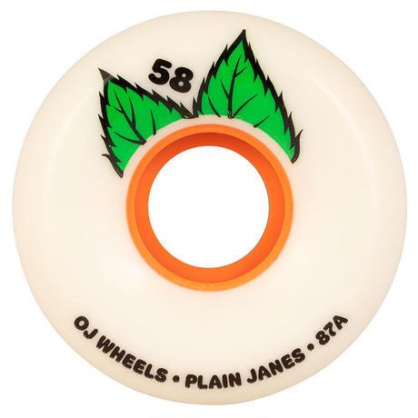 OJ WHEELS KEYFRAME PLANE JANE WHEELS 58mm, 87a