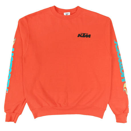 BOYS OF SUMMER EDWARDS CREWNECK SWEATSHIRT ORANGE