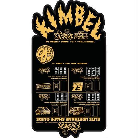 OJ WHEELS  ELITE WILLIS KIMBEL KEGGER BARREL MINI COMBO WHEELS 56mm 101a