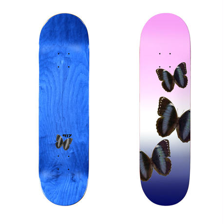 SALE! セール! CALL ME 917 BUTTERFLY SLICK DECK PINK (8.25 x 32.3inch)