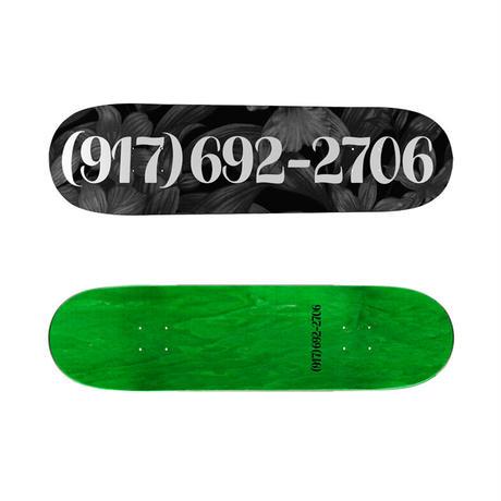 SALE! セール! CALL ME 917 DIALTONE WHITE DECK SLICK  (8.25 x 31.8inch)