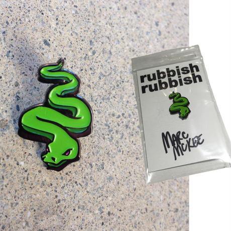 RUBBISH RUBBISH  MARC McKEE  SNAKE PINS