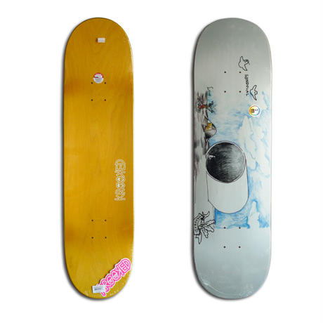 KROOKED RONNIE SANDOVAL FULLPIPE DECK (8.62 x 32.56inch)