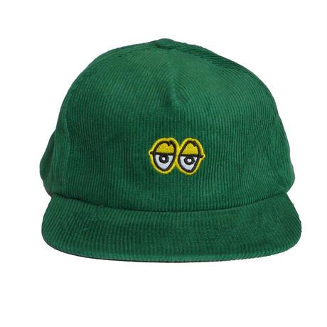 KROOKED EYES EMBROIDERED SNAPBACK CAP