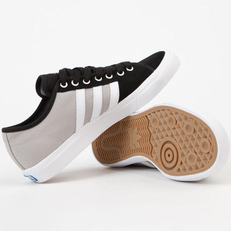 ADIDAS SKATEBOARDING  MATCHCOURT RX SKATE SHOES - CORE BLACK/WHITE