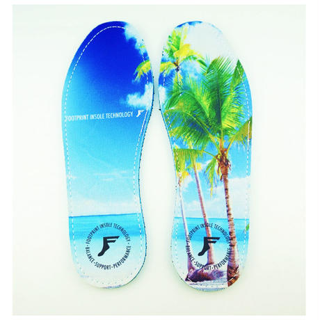 FP INSOLES KING FOAM INSOLES BEACH GRAPHIC 7mm