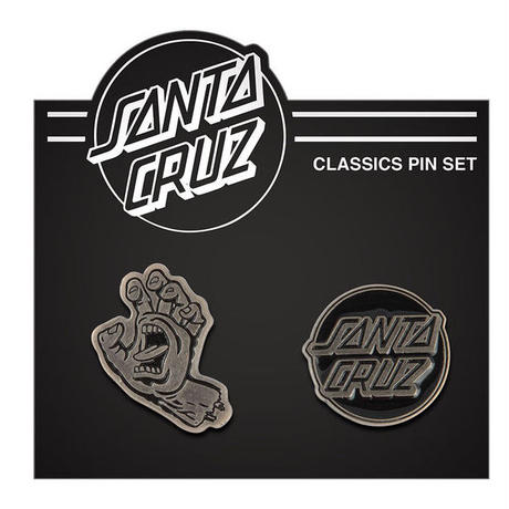 SANTA CRUZ  SC CLASSICS  PUSH BACK PIN SET