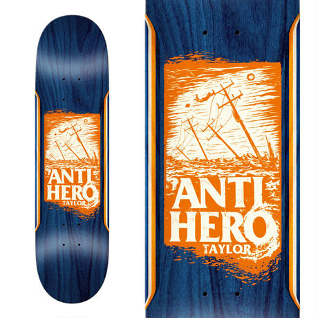 ANTI HERO GRANT TAYLOR HURRICANE RECOLOR DECK   (8.25 x 32inch)