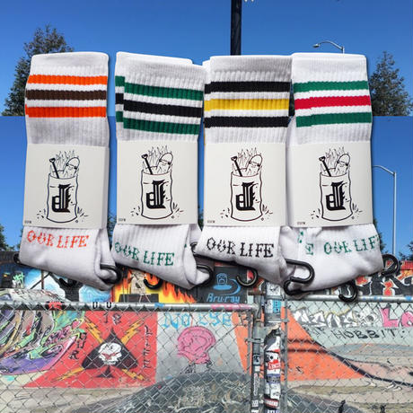 OURLIFE x DIRTY PIGEON SOCKS