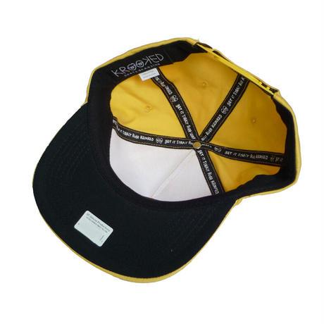 KROOKED SHMOO SNAPBACK CAP