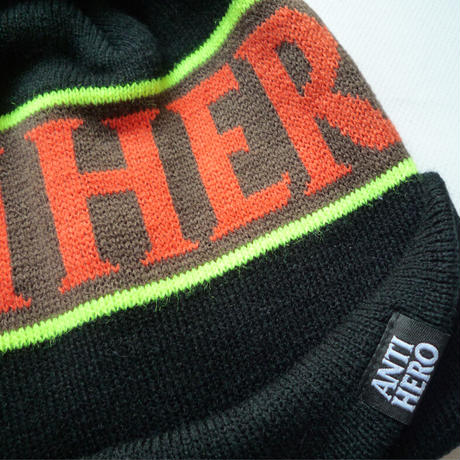ANTI HERO BLACKHERO POM BEANIE