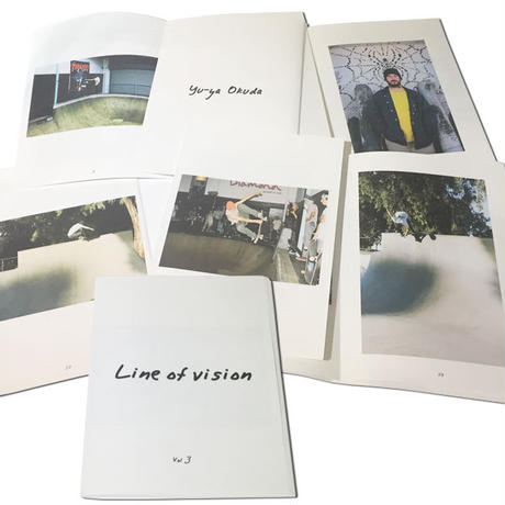 YUYA OKUDA  LINE OF VISION  PHOTO ZINE  VOL.3